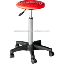 red top surgery stool used in hospital or clinic