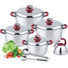 11pcs casserole with kettle