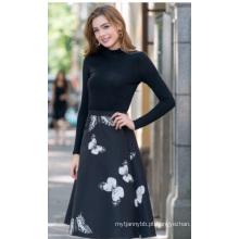Atacado de alta qualidade mulheres moda saia