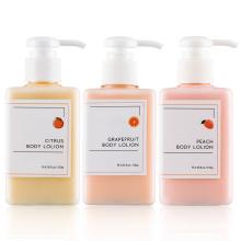 Loción corporal de perfume de pomelo blanqueadora orgánica OEM