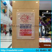 Heiße Verkäufe Acryl LED Poster Licht Box Rahmen