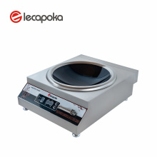 Cheap Price Stainless Steel 380V 6KW Induction Cooker