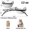 Ceramic Raised Pet Cat Bowls