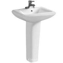 asia hot sale ceramic white bathroom/ pedestal sink