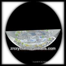 Intaglio de cristal K9 del molde S006