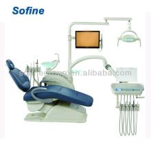 Новый роскошный стул для стоматологической установки с натуральным кожаным стоматологическим устройством Hot Sale