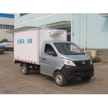 Changan Gasoline Mini Refrigerated Van Truck