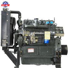 Motor diesel marítimo de alto desempenho ZH4102C 4 cilindros diesel