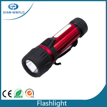 Super Bright Aluminum Flashlight with Magnet