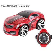 Mini coche de juguete eléctrico de control de voz Drift con control de reloj inteligente