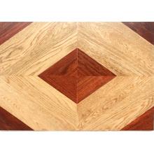 Parquet de madera dura raspada a mano / roble, suelo de madera Balsamo