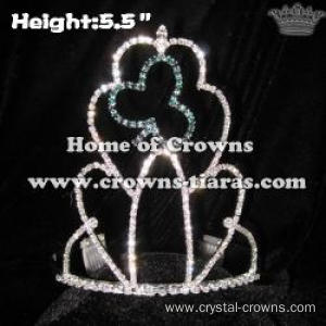 Crystal Clovers Shamrock Crowns