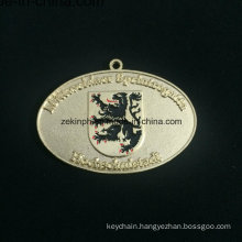 Custom Znic Alloy Gold Medal Discharge Medal