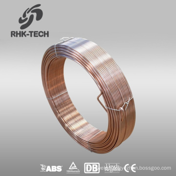 Copper cored co2 gas shielded submerged arc welding wire em12k