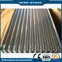 Chapa de aço ondulada galvanizada de alta qualidade do MERGULHO quente