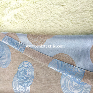 Newest Special Yarn Dyed Linen Looking Jacquard Curtai