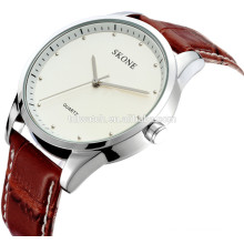 2015 skone 9131 fashion leather beautiful wrist watches