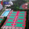 Portable Modular Interlock PP Tile sports court outdoor