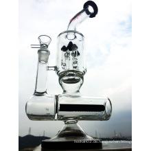 12inch Höhe in der Linie Percolator Schloss Glas Rauchen Wasser Rohr