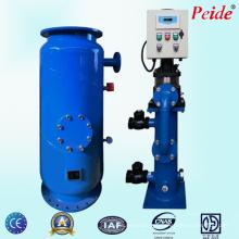 Máquina industrial da limpeza da esfera de borracha de Condensor