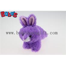 "Lovely 7 ""Purple Little Kaninchen Qualität Prozess Größe kann angepasst werden B0s2016-05 / 7"""