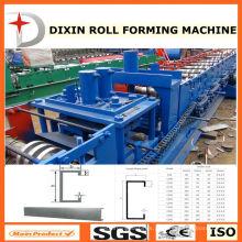 Máquina formadora de rolos de perfil de aço C (C80-300)