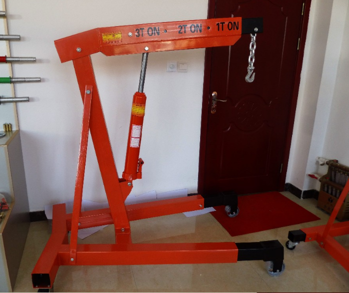 hydraulic jack engine crane