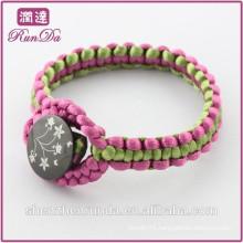 Alibaba new arrival hand knitting rope bracelets