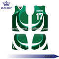 Maillots de basket-ball bon marché Quick-Dri Fabric