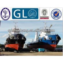 Airbag de goma marino para barcos catamarán Lanzamiento hacia abajo