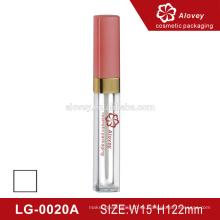 2016 ventas calientes nuevo estilo lipgloss tubo cosméticos de embalaje