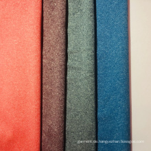 Melange kationisch gefärbtes Polyestergewebe für Sportbekleidung