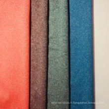 Tissu polyester à teinture cationique mélangée pour vêtements de sport