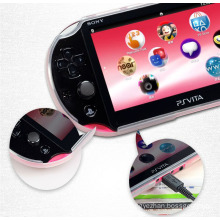 Clear Black White TPU Case Shell Protective Cover Skin For Sony For PlayStation PS Vita 2000 PSV2000