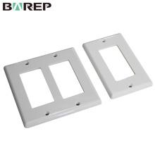 Placa de interruptor de luz de plástico BAREP del producto del zócalo