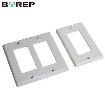 BAREP Socket produit Plaque d'interrupteur de lumière en plastique
