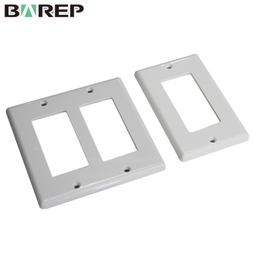 YGC-008 CUL listed china supplier custom electrical plastic switch plates