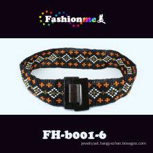 custom beaded belts,clorful beads belts from Guangzhou factory