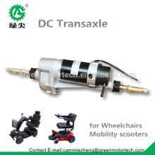 motor eléctrico transaxle motor 24V motor transaxle para scooters de movilidad