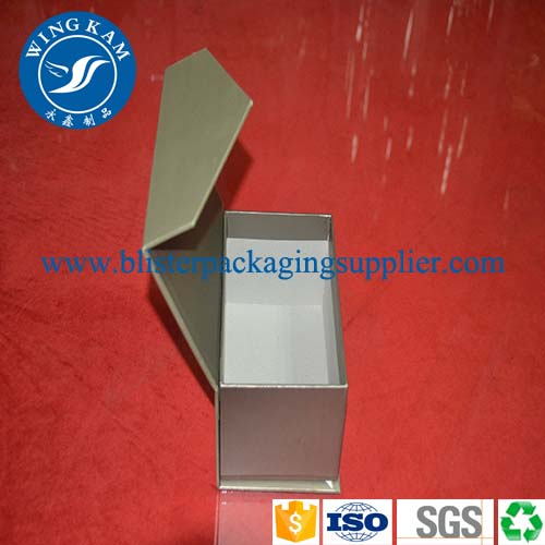 Silvery Printing Paper Box Packaging