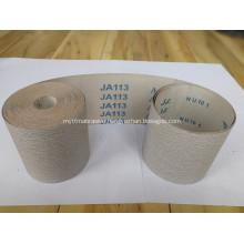 Hand Use Aluminum Oxide coated Abrasive Cloth Ja113