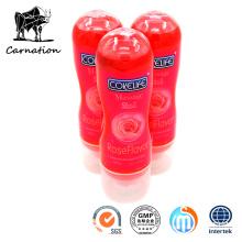 Massagem 2em1 Rose Flavor Sex Lubricant Toys