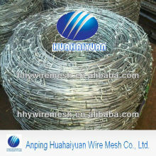 galvanized barb wire pvc coated barbed wire fence guardrail