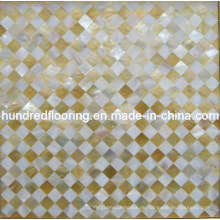 Mosaik Fliese Perlmutt Muschel Mosaik (HMP63)