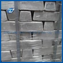 Prix de lingot de titane de pureté de surface de 99,7% de surface de polissage