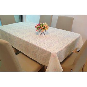 Colour Printed Tablecloth PVC