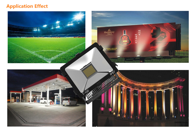 TG-06 100w Narrow Beam 100w LED Floodlight 8