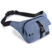 Embalagem de cintura de fivela azul conveniente logotipo personalizado