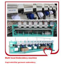 Industrial de alta precisão Multi cabeças misturadas Computer Bordados máquina Preço