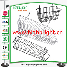 Shelf Accessories Steel Wire Mesh Hanging Basket